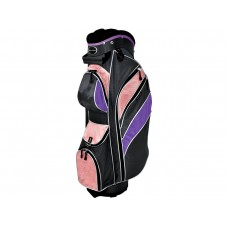 INTECH LADIES PINK FULL SIZE CART GOLF BAG w/ 7 WAY TOP