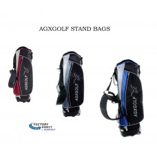 AGXGOLF Stand Golf Bag w/Dual Strap; Great Carry Bag w/Rain Cover