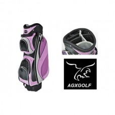 ORLIMAR LADIES DIAMOND LAVENDER EDITION FULL SIZE GOLF CART BAG w/7 WAY TOP
