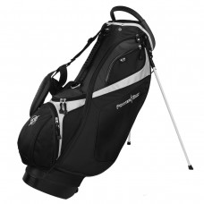 MENS POWERBILT DELUX FULL SIZE GOLF STAND BAG w14 WAY TOP + DUAL STRAP & RAIN COVER; CHOOSE COLOR