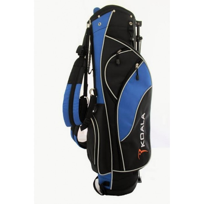 golf clubs and teen and set