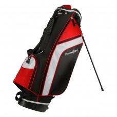 NEW AFFINITY ZLS GOLF STAND BAG wDUAL STRAP & RAIN COVER; 6 WAY GRAPHITE SAFE TOP