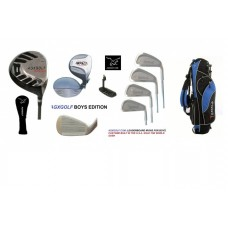 BOYS TOUR IMPACT STARTER GOLF CLUB SET w/STAND BAG & PUTTER RIGHT HAND TWEEN or TEEN LENGTH BUILT IN THE USA!