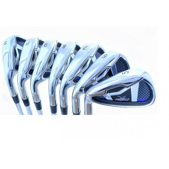 AGXGOLF MAGNUM TOUR XS IRON HEADS: SET TOTAL OF SEVEN HEADS 5-SW ...