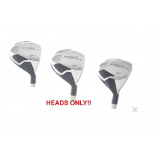 AGXGOLF XS SERIES #3, 4 & 5 HYBRID IRON SET: HEADS ONLY!!