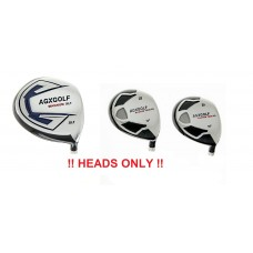 MAGNUM XLT DRIVER + 3 & 5 FAIRWAY WOODS SET: HEADS ONLY!!