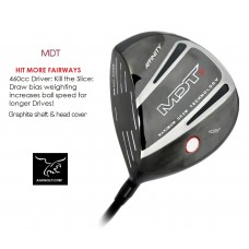 MEN'S LEFT HAND DRAW BIAS (ANTI-SLICE) 460cc DRIVER GRAPHITE SHAFT: ALL LENGTHS