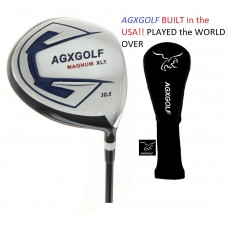 SENIOR EDITION 10.5 DEGREE 460cc FORGED 7075 OVERSIZED DRIVER: GRAPHITE w/HEAD COVER