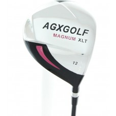 AGXGOLF LADIES RIGHT HAND MAGNUM XLT 460 DRIVER wGRAPHITE SHAFT & HEAD COVER