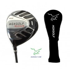 AGXGOLF MEN'S MAGNUM EDITION LEFT or RIGHT HAND 460cc DRIVER: FORGED 7075 HEAD w/GRAPHITE SHAFT + HEAD COVER