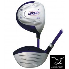 GIRLS IMPACT 12 DEGREE 42 INCH 400cc OFFSET DRIVER; GRAPHITE SHAFT wHEAD COVER