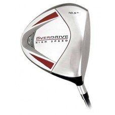 MEN'S RIGHT HAND OVERDRIVE 460cc DRIVER GRAPHITE w/COVER