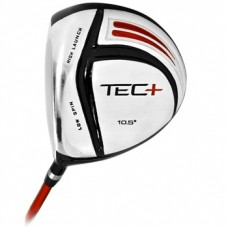 NEW TEC-PLUS MEN'S LEFT HAND 460cc OVER SIZE GRAPHITE SHAFT DRIVER w/HEAD COVER