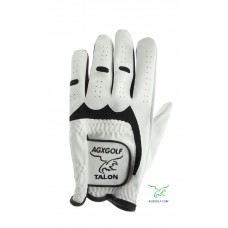 "AGXGOLF ""TALON"" CABRETTA GOLF GLOVES TWELVE PACK for RIGHT HANDED GOLFERS: GLOVE FITS ON THE LEFT HAND"
