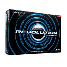 Maxfli Revolution Distance Golf Balls : NEW 12 PACK all the Distance without giving up the Feel!