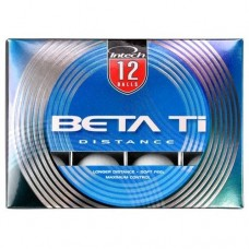 INTECH: TITANIUM BETA-TI; DISTANCE GOLF BALLS: 3 NEW 12 BALL PACKS