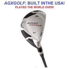 AGXGOLF LADIES MAGNUM XS HYBRID IRONS w/GRAPHITE SHAFT & COVER: CHOOSE, LEFT or RIGHT HAND, LENGTH & LOFT
