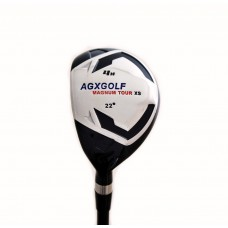 AGXGOLF LADIES MAGNUM XS #4  HYBRID IRON w/GRAPHITE SHAFT & COVER: CHOOSE YOU LENGTH