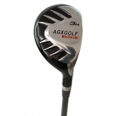 AGXGOLF LADIES Z SERIES #3 (19 DEGREE) HYBRID IRON w/GRAPHITE SHAFT & COVER: CHOOSE YOU LENGTH