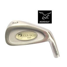 AGXGOLF MENS TOUR EAGLE 3 IRON: STAINLESS STEEL: CHOOSE FLEX - CADET, REGULAR OR TALL LENGTH