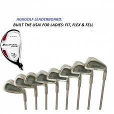 NEW MEN'S LEADERBOARD IRON SET w/BONUS #3 HYBRID RH CADET REGULAR OR TALL LENGTH