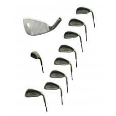 AGXGOLF; TOUR LIMITED EDITION (PING EYE II TYPE) MEN'S RH IRONS SET STAINLESS STEEL: REGULAR FLEX