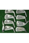 AGXGOLF SABRE IRON HEADS SET TOTAL OF NINE HEADS 3-SW STAINLESS STEEL .370 HOSEL