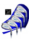 LADIES IRONS SET CAMPBELL 5, 6, 7, 8 & 9+PW w/LADIES FLEX GRAPHITE SHAFTS: BUILT in the U.S.A.