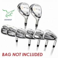 ORLIMAR WOMENS TRI-METAL ZXP GRAPHITE IRON SET: 4 & 5 HYBRID + 6-SW IRONS