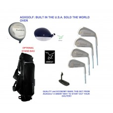 BOYS TWEEN or TEEN GOLF CLUBS STARTER SET w/OVERSIZE DRIVER & FREE PUTTER RIGHT HAND