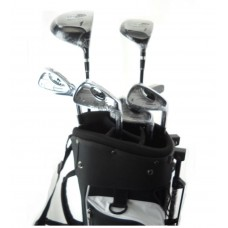 NEW BOY'S TEEN AND TWEEN GRAPHITE GOLF CLUB SET w/DRIVER+5 WOOD+IRONS+SW+STAND BAG+PUTTER