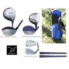 "GIRL'S ""IMPACT"" GRAPHITE EDITION: STARTER SET w400cc DRIVER LEFT or RIGHT HAND"