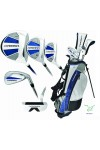 XTERRA (ADVANCED VELOCITY) BOY'S EDITION: GOLF CLUB SET wOPTIONAL STAND BAG & PUTTER; TEEN OR TWEEN LENGTH