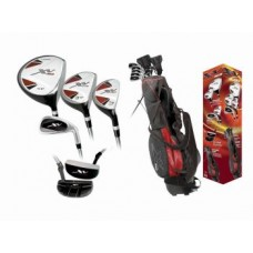 BOYS RIGHT OR LEFT XV GOLF CLUB SET w460cc DRIVER STAND BAG & FREE PUTTER: TEEN OR TWEEN LENGTH