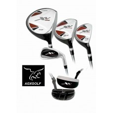 BOYS RIGHT OR LEFT XV GOLF CLUB SET w/460cc DRIVER & FREE PUTTER: TEEN OR TWEEN LENGTH