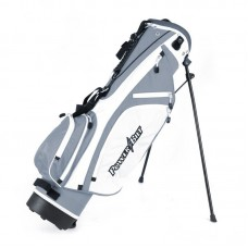 POWERBILT JUNIOR SILVER STAND BAG FOR AGES 9-12 (For heights of 48-60 inches).
