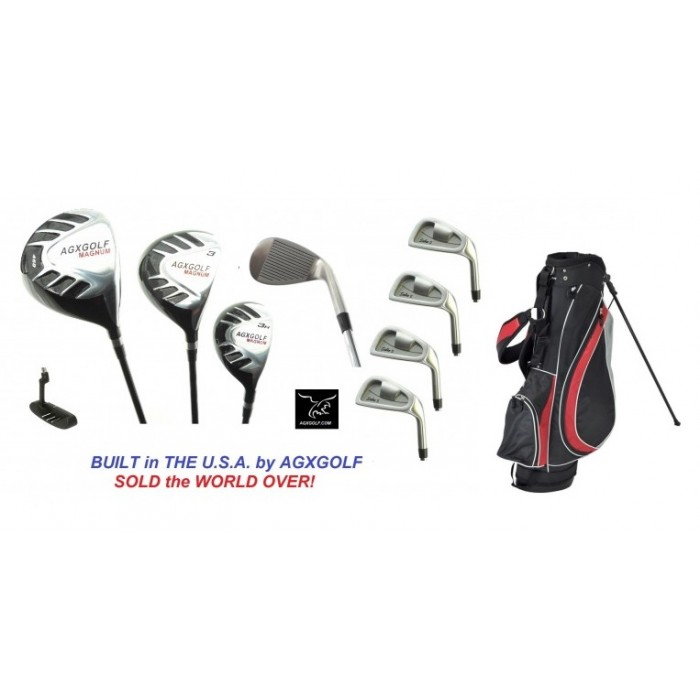 5e1507a9378d MEN'S MAGNUM SERIES EXECUTIVE GOLF CLUB SET w/STAND BAG: RIGHT HAND: CADET,  REGULAR, &TALL SIZES