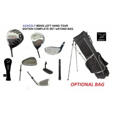AGXGOLF SL EDITION: COMPLETE GOLF CLUB SET: MENS LEFT HANDED; CADET & REGULAR LENGTHS: OPTIONAL BAG