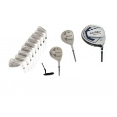 AGXGOLF MDD TOUR MEN'S GOLF SET w460 DRIVER + 3 WOOD, & 7 UTILITY WOOD + 3-9 IRONS + PW & SW FREE PUTTER: CHOOSE LENGTH & FLEX; BUILT in the USA!!