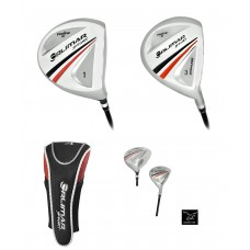 ORLIMAR: FIRELINE SENIOR MENS DRIVER AND FAIRWAY WOOD SET RIGHT HAND GRAPHITE SHAFT; ALL LENGTHS