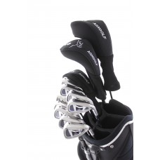 MEN'S SENIOR EDITION, RIGHT HAND MAGNUM XS GOLF CLUB SET w460 DRIVER + #3 HYBRID+ 5-PW+PUTTER: OPTION TO INCLUDE STAND BAG