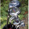 MENS LEFT HAND MAGNUM XS EDITION GOLF CLUB SET w460 DRIVER + #3 HYBRID+ 5-PW+PUTTER: OPTION TO INCLUDE STAND BAG, 3 WOOD, 3 HYBRID & SAND WEDGE