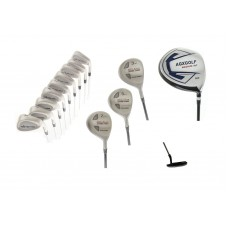 AGXGOLF MDD TOUR MEN'S GOLF SET w460 DRIVER +3, 5 & 7WOODS+3-9 IRONS+PW+SW+PUTTER
