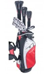 POWERBILT MEN'S PRO-POWER EDITION: FULL GOLF CLUB SET WITH STAND BAG & FREE PUTTER: AVAILABLE in MEN'S LEFT & RIGHT HAND; CADET, REGULAR & TALL LENGTHS.