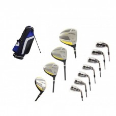 SLAZENGER Tour-Select TS-881 Men's Right Hand Complete Golf Club Package Set w/ Stand Bag + Putter