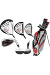 ORLIMAR MEN'S LEFT HAND ST EDITION: FULL GOLF CLUB SET WITH STAND BAG & FREE PUTTER: CADET, REGULAR & TALL LENGTHS