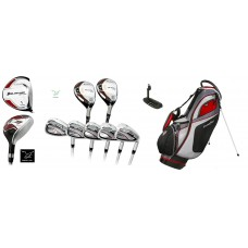 MEN'S ORLIMAR/ZXP CLUB SET w460cc DRIVER+4 & 5 HYBRID+ 6-PW+STAND BAG+PUTTER; CADET, REGULAR & TALL LENGTHS