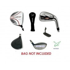 MENS LEFT HAND MAGNUM  XF EXECUTIVE GOLF CLUB SET: CADET, REGULAR, OR TALL LENGTH INCLUDES PUTTER