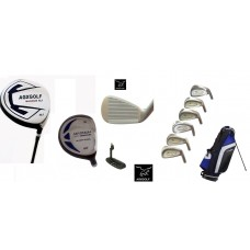 "AGXGOLF ""MAGNUM - TOUR EAGLE EDITION"": FULL GOLF CLUB SET with STAND BAG and FREE PUTTER"
