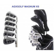 MEN'S RIGHT HAND MAGNUM XS EDITION GOLF CLUB SET w460 DRIVER + #3 HYBRID+ 5-PW+PUTTER: OPTION TO INCLUDE STAND BAG